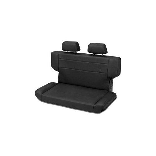 Trailmax II Fold and Tumble Rear Seat in Black Vinyl