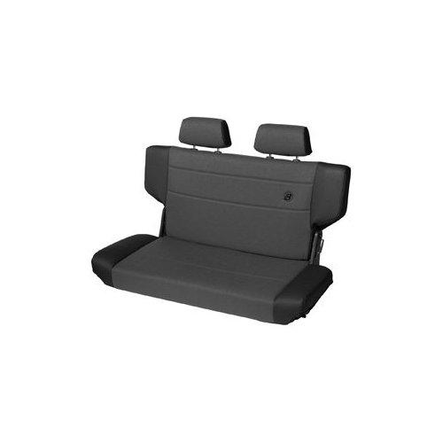 Trailmax II Fold and Tumble Rear Seat in Black Denim