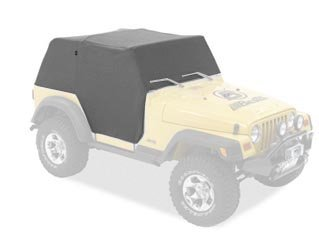 All Weather Full Door Coverage Trail Cover in Charcoal