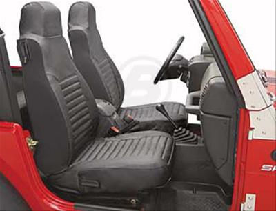 High Back Seat Covers in Black Diamond