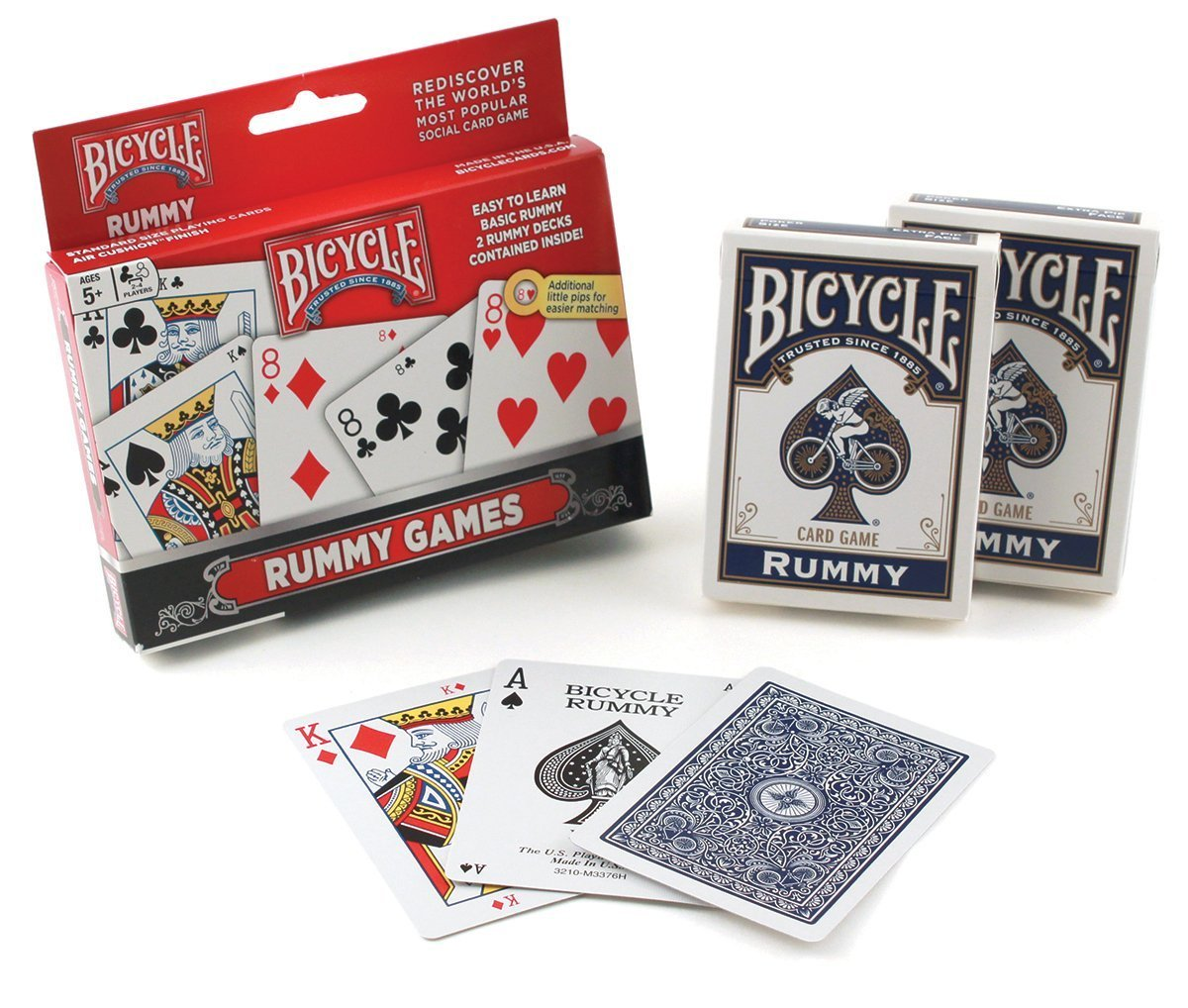 Bicycle Rummy Set, 6 Decks