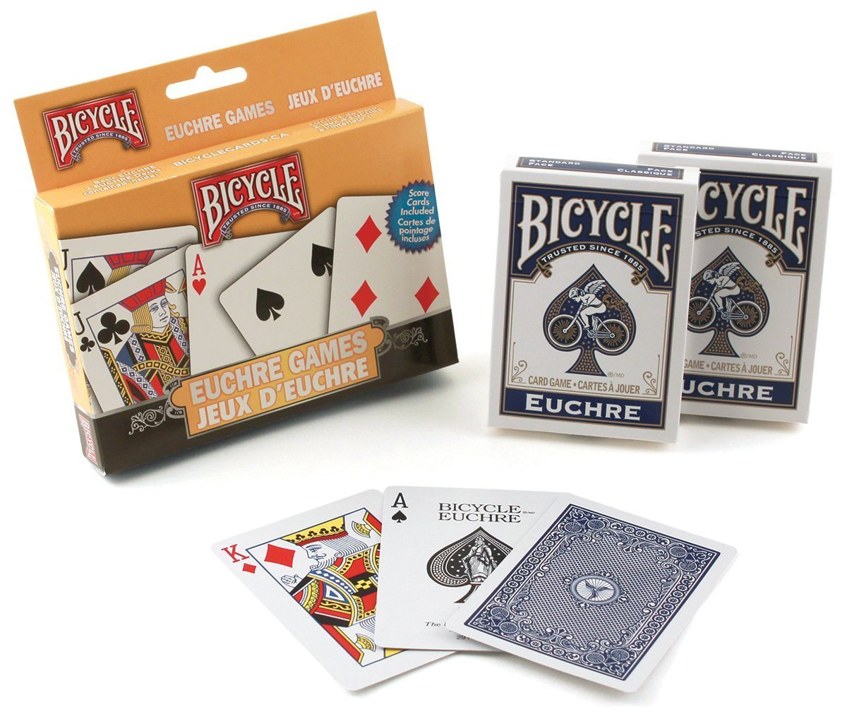 Bicycle Euchre Set, 6 Decks