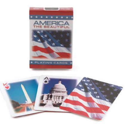Bicycle American Flag, 6 Decks