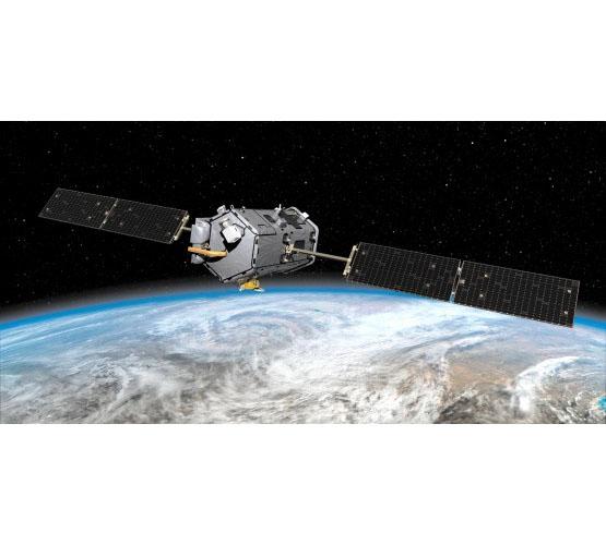 Biggies Space Murals - Earth Satellite - Medium
