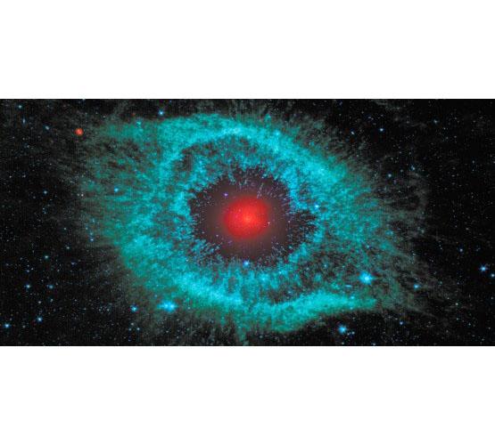 Biggies Space Murals - Helix Nebula - Medium