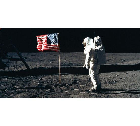 Biggies Space Murals - Moon Walk - Large
