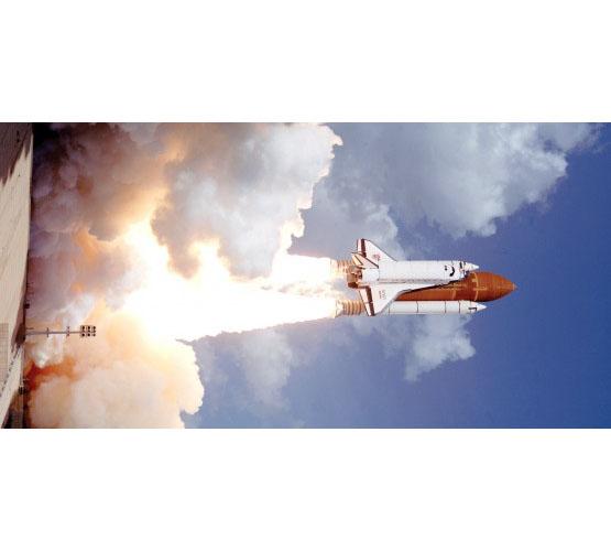 Biggies Space Murals - Galileo Launch - Extra Large