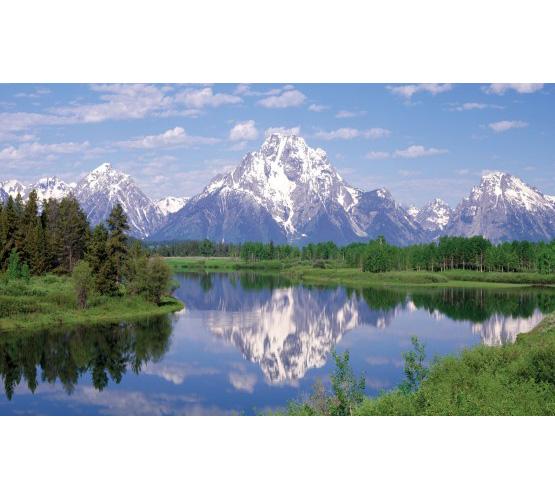 "Biggies 80"" Mountain Two Window Well Scenes"