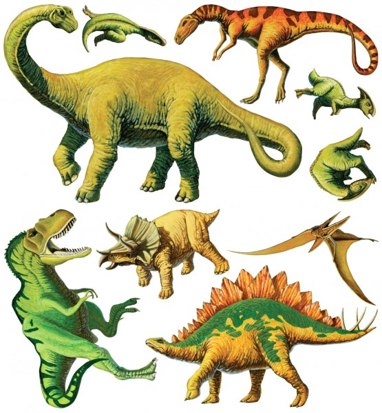 Biggies Wall Stickies - Dinosaurs