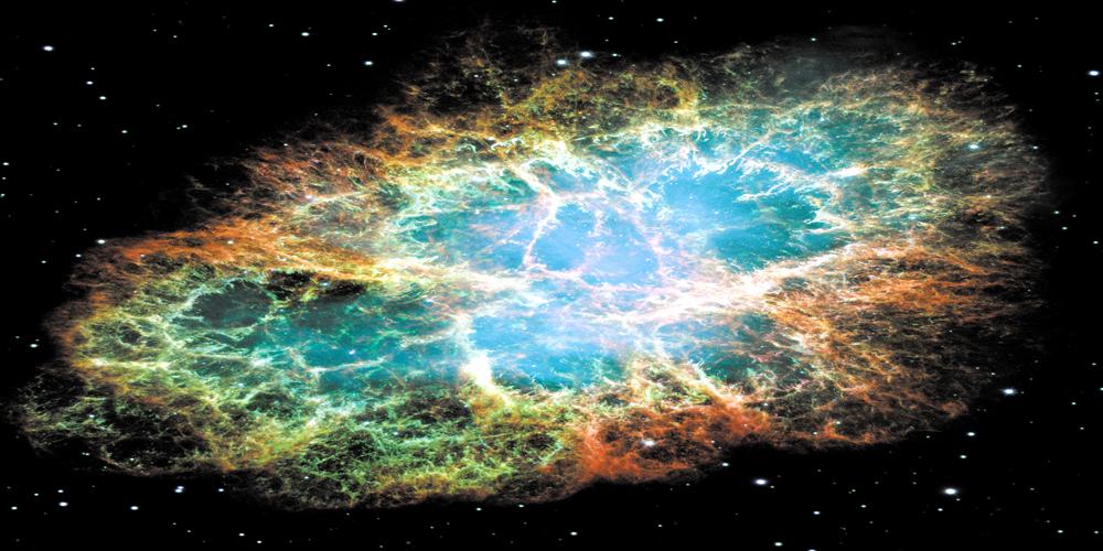 Biggies Space Murals - Crab Nebula - Large