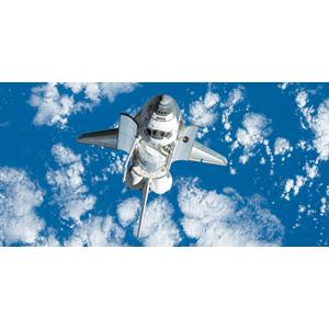Biggies Space Murals - Space Shuttle - Large