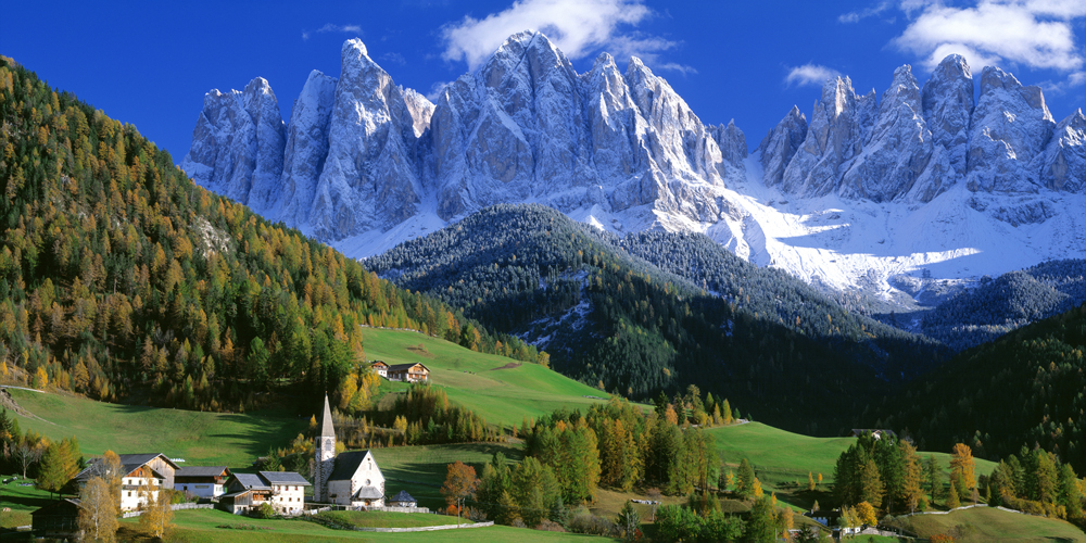 Biggies Italy Valley Photograph Wall Mural, Extra Large
