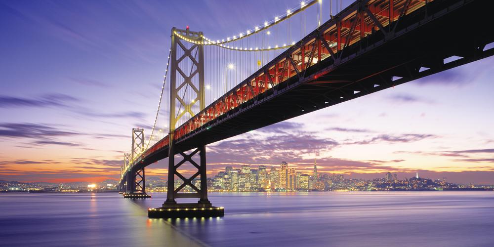 Biggies San Francisco Bridge Photograph Wall Mural, Extra Large