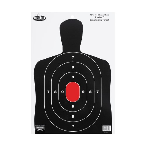 BW Casey Dirty Bird BC27 Silhouette 12x18 Target 8 Pk