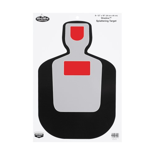 BW Casey Dirty Bird BC19 Silhouette 12x18 Target 8 Pk