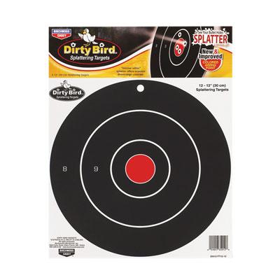 BW Casey Dirty Bird Target 12 inch Bull 12 Pack