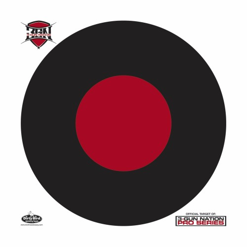 "BW Casey Dirty Bird 17.25"" 3-Gun Nation Target 5 Pk"