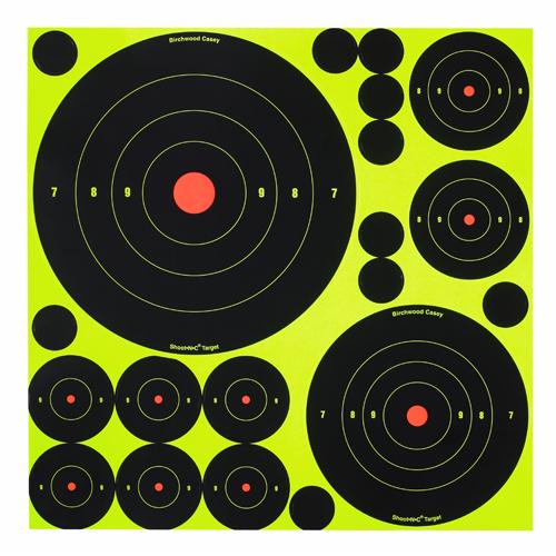 BW Casey Shoot-N-C Bull's-eye Assortment