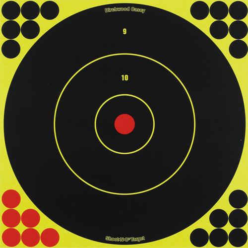 """BW Casey Shoot-N-C 12"""" Bull's-Eye Target - 12 Targets"""