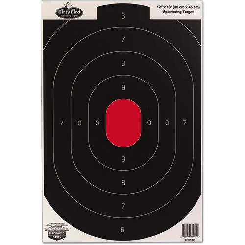 "BW Casey Dirty Bird 12"" x 18"" Silhouette Target - 8 targets"