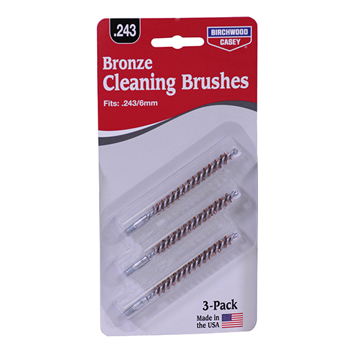 .243/6 mm, .257 Bronze Brush 3 Pack