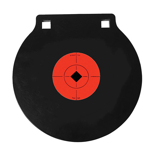 "6"" Gong two hole 3/8"" AR500 Steel"