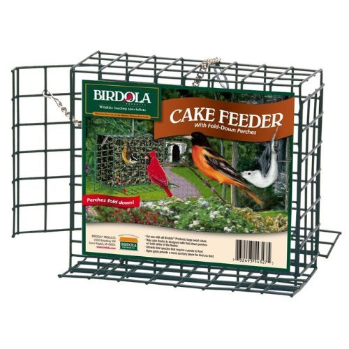 Large Cake Feeder with Perches