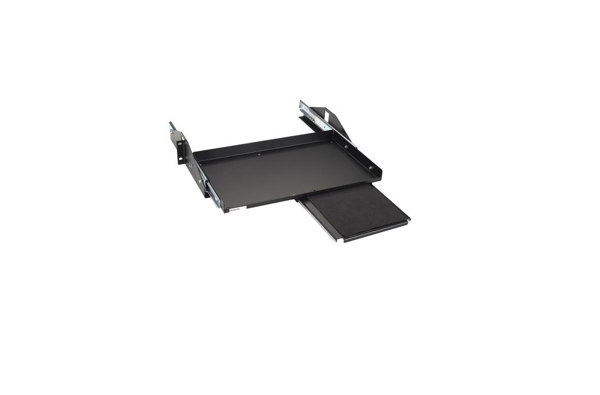 Black Box RM382-R3 Sliding Keyboard Shelf Black