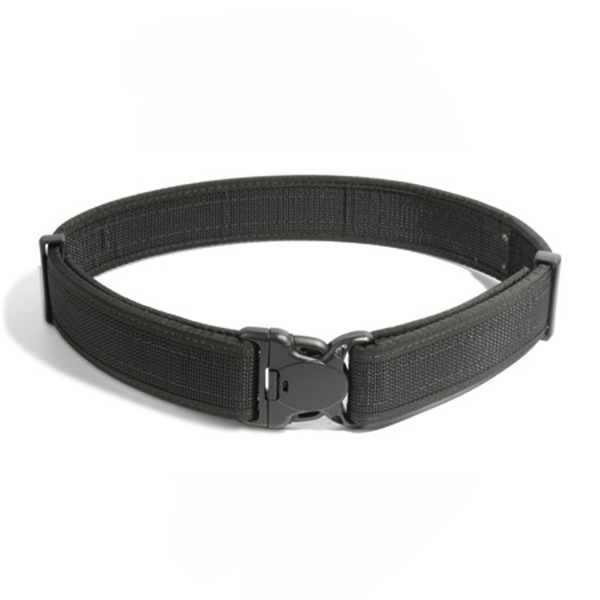 Reinforced Web Duty Belt, Black, Fits 38-42 in.