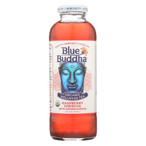 Organic Wellness Tea - Raspberry Hibiscus With Ashwagandha ( 12 - 14 FZ )