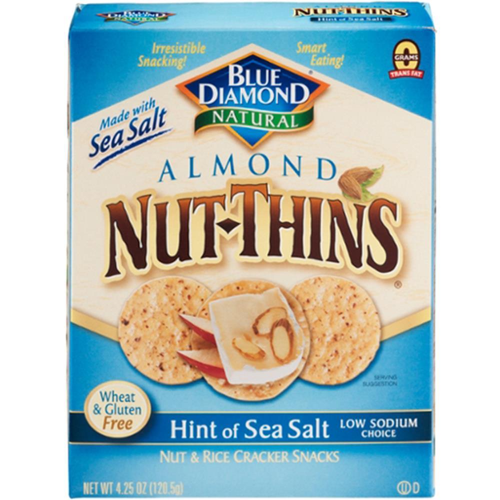 Blue Diamond - Hint Of Sea Salt Nut Thins ( 12 - 4.25 OZ)