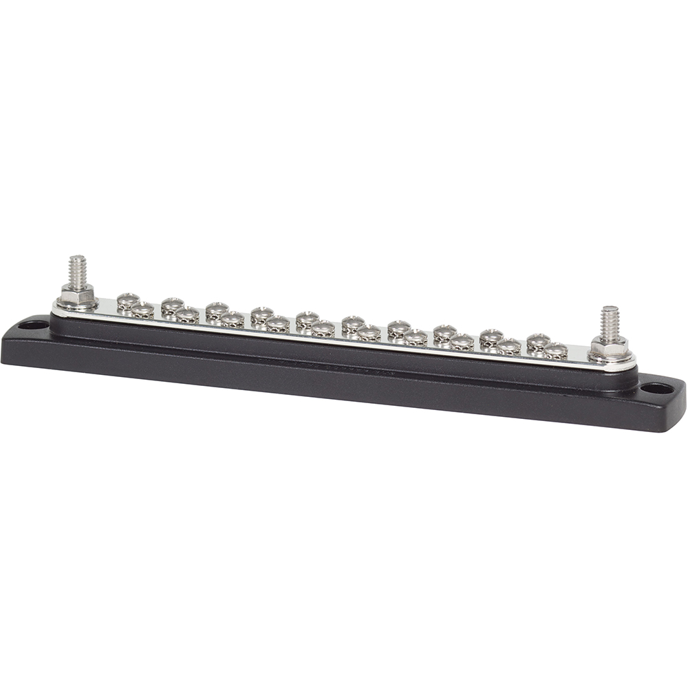 Blue Sea 2302 150AMP Common BusBar 20 x 8-32 Screw Terminal