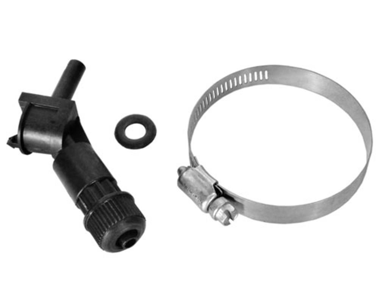"Threadless Injector Fitting-3/8"" Tubing"