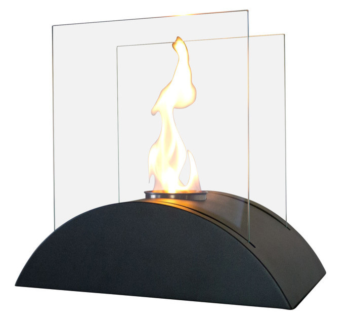 Estro Tabletop Fireplace - Black
