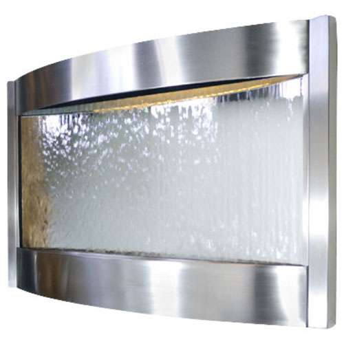 Contempo Luna Stainless Steel With Silver Mirror - Horizontal