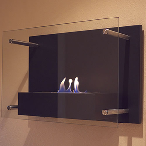 Radia Wall Mounted Fireplace 15.74