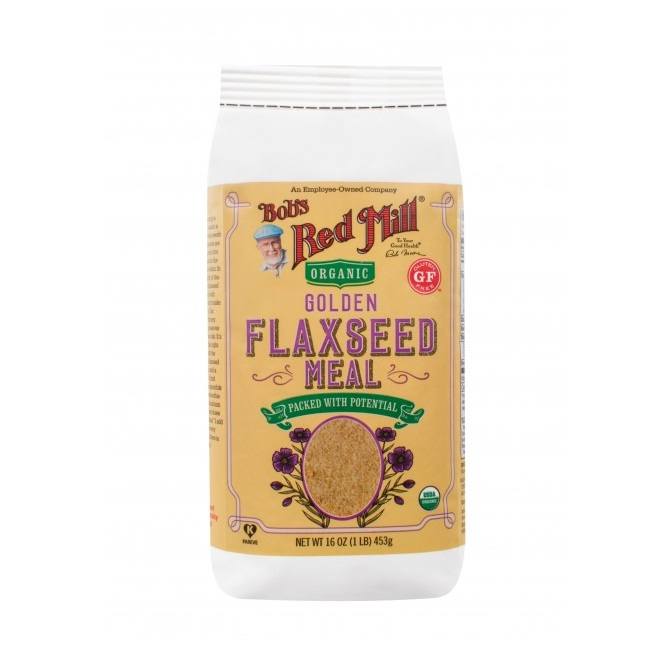 Bobs Red Mill Organic Gluten Free Golden Flaxseed Meal (4x16 OZ)