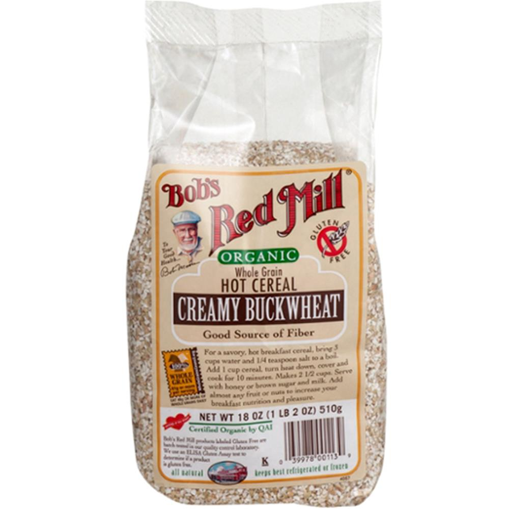 Bob's Red Mill - Organic Hot Buckwheat Cereal ( 4 - 18 OZ)
