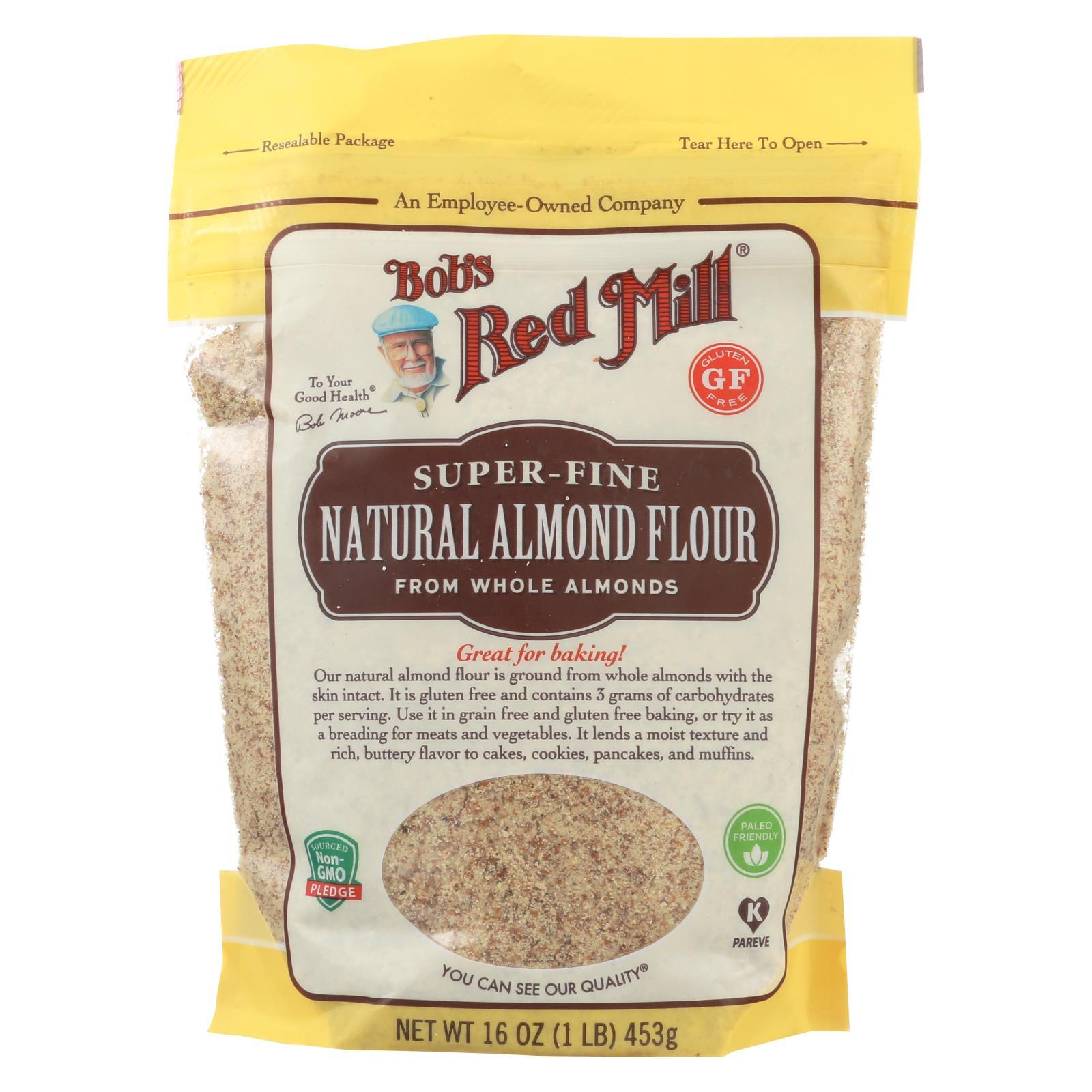 Flour - Almond - Natural ( 4 - 16 OZ )