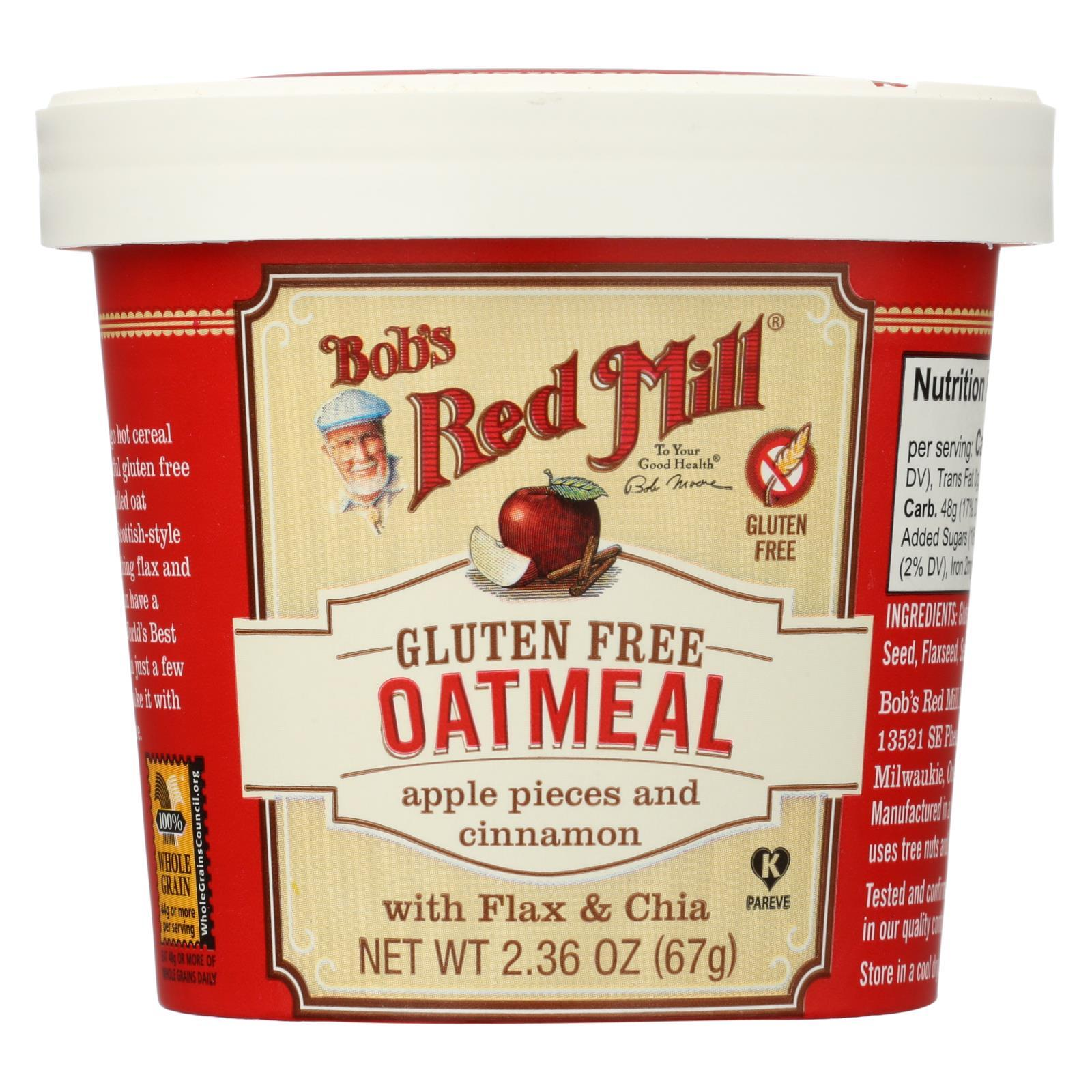 Gluten Free Oatmeal Cup, Apple And Cinnamon ( 12 - 2.36 OZ )