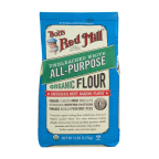 Organic Unbleached White All-Purpose Flour ( 4 - 5 # )