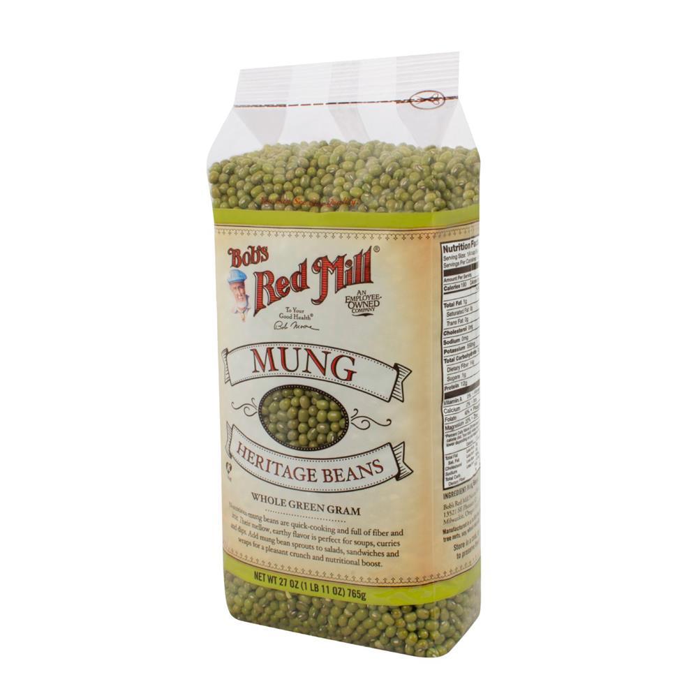 Bob's Red Mill - Mung Beans ( 4 - 27 OZ)