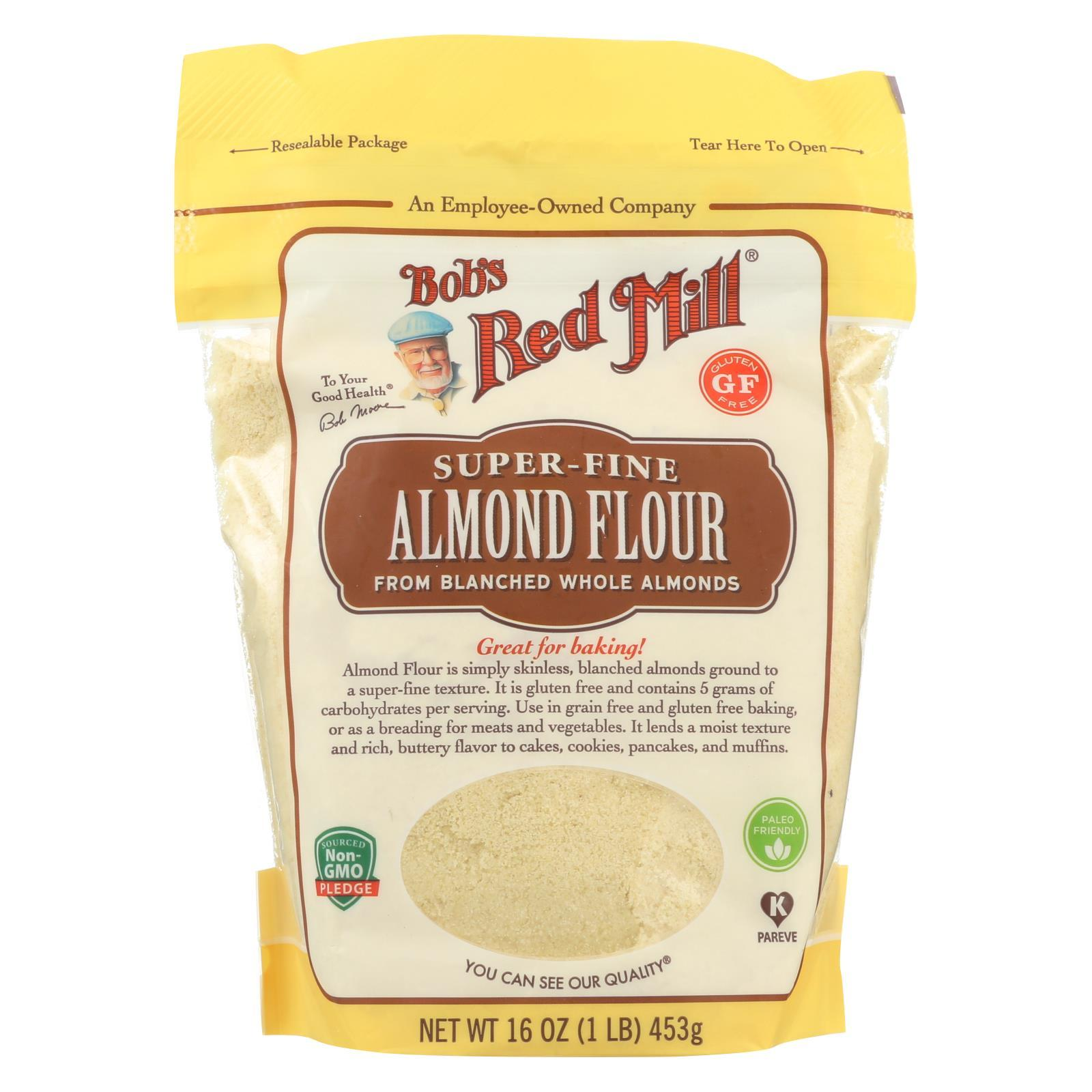 Flour - Almond - Blanched ( 4 - 16 OZ )