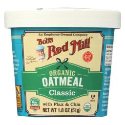 Oatmeal - Organic - Cup - Classc - Gluten Free ( 12 - 1.8 OZ )