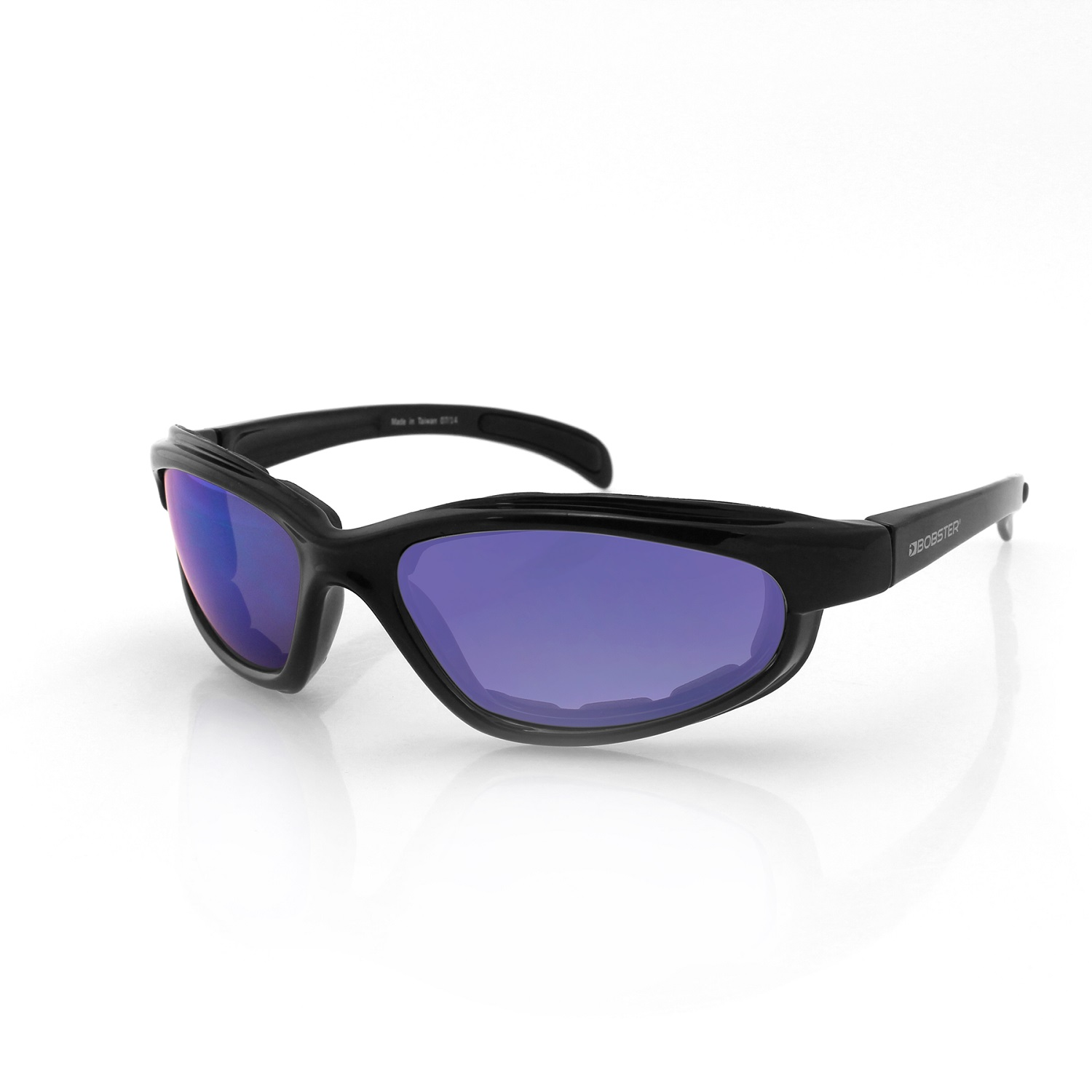 Bobster Fatboy Sunglasses-Black Frame with Smoked Lenses