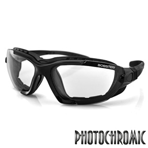 Bobster Renegade Conv Sunglass Blk Frame PhotoC Lens
