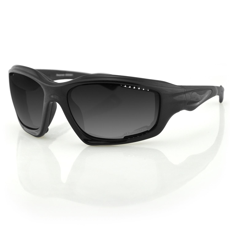 Bobster Desperado Sunglass-Black Frame-Anti-fog Smoked Lens