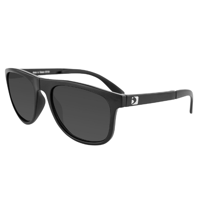 Bobster Hex Folding Sunglasses Matte Blk Frame/Smoked Lens