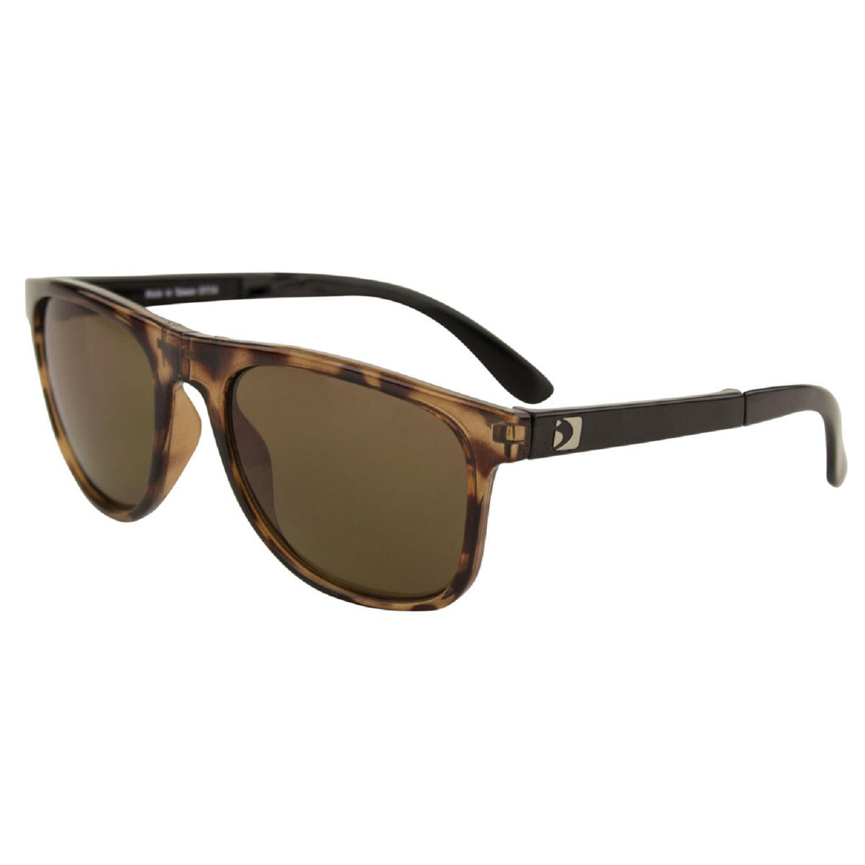 Bobster Hex Folding Sunglasses Gloss Tortoise Frame/Brwn Len
