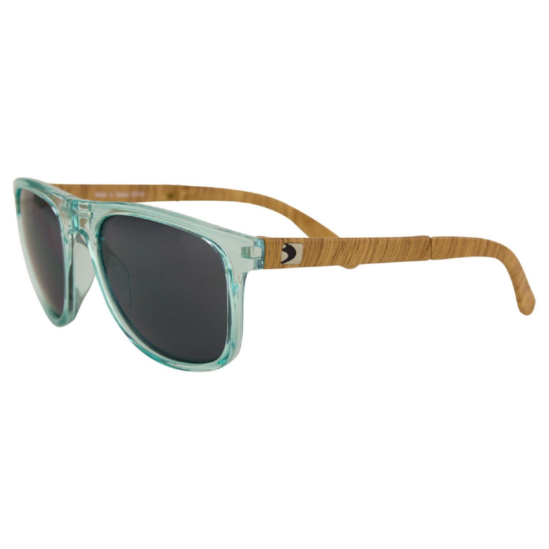 Bobster Hex Folding Sunglasses Gloss Mint Frame/Smoked Lens